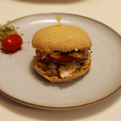 Mai zdrowy hamburger