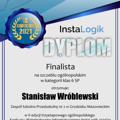 dyplom_instalogik_2_stanisław_wróblewski