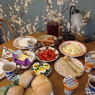 zdrowe śniadanie Wiktora