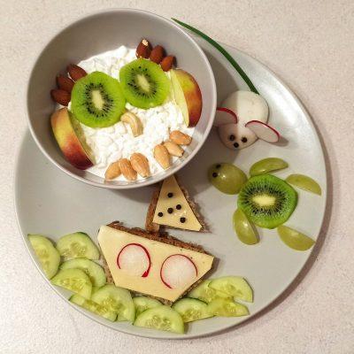 zdrowe śniadanie Zuzia Żuraw